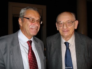 Wladyslaw Bartoszewski i Maciej Kozlowski i Wladyslaw
