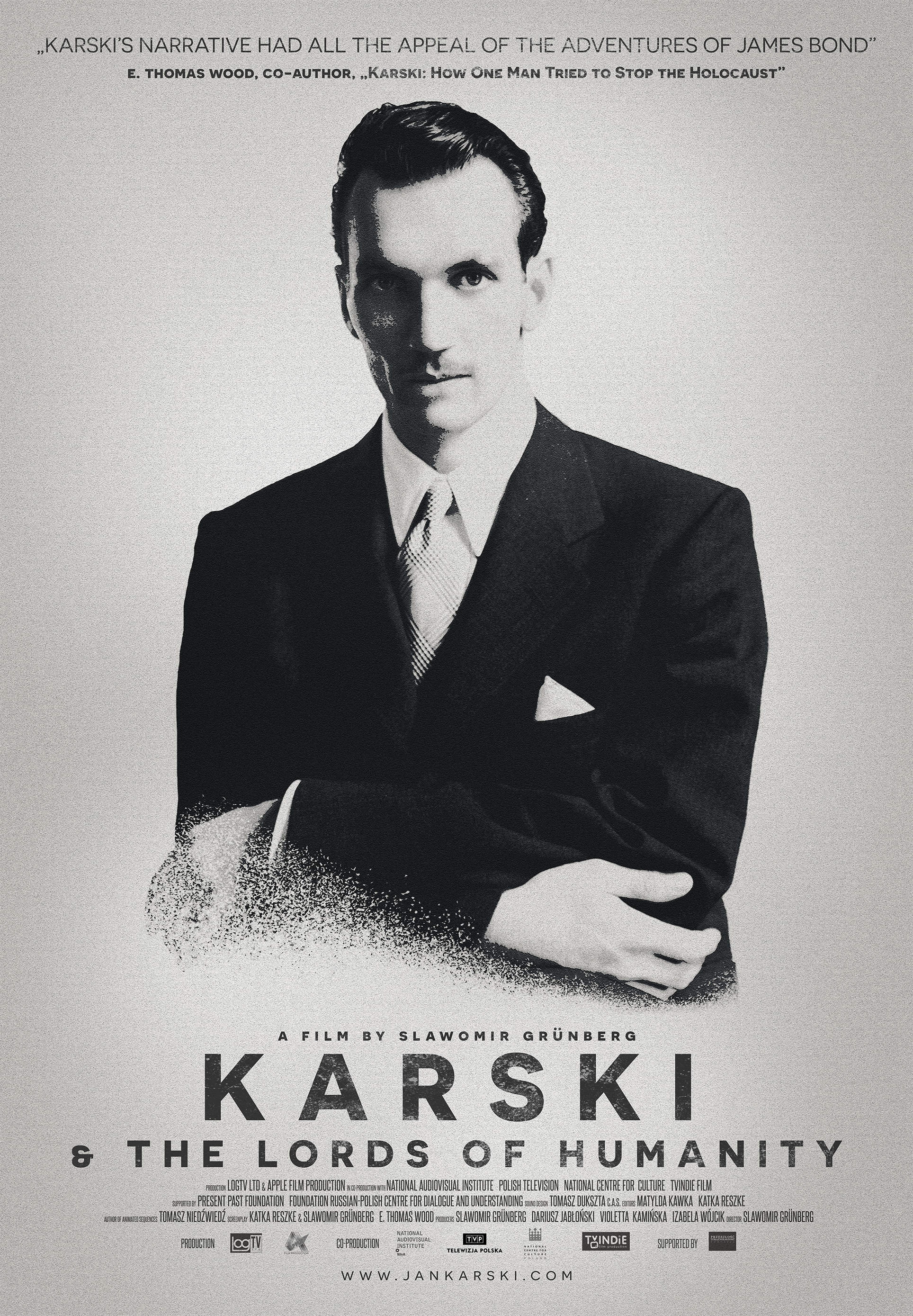 Karski & The Lords of Humanity Poster PL