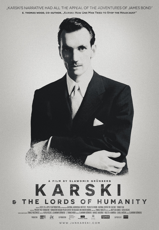 Karski & The Lords of Humanity Poster PL